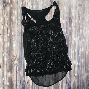 Guess sequined tank